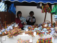 Textilní hračky firmy Art dekor