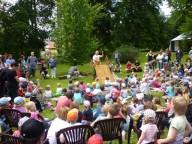 Pohádkové představení v zahradě