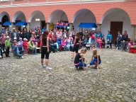 Vystoupení taneční skupiny NAJKIS