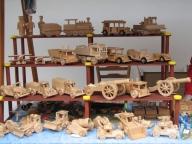 Krása dřevěné hračky